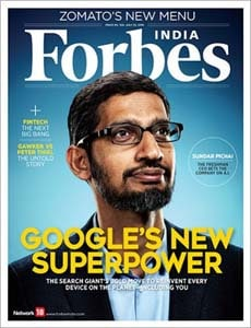 Forbes magazines over website hacks
